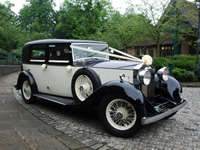 Rolls Royce Primrose wedding car hire
